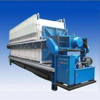 high quality and high efficiency filter press machine
