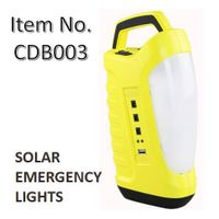 Solar Emergency Light Power Bank with Phone Charging Function