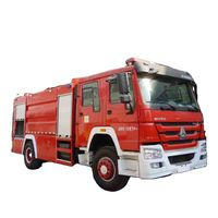 Sinotruck Howo 42 Water powder and foam Fire Truck