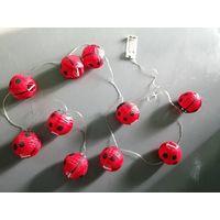 Nylon paper light string, Honeybee party lights thumbnail image