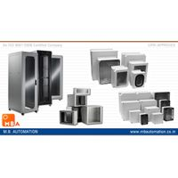 Enclosure systems Steel Cabinets Racks wall mounted and floor standing Racks