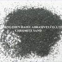 Ladle filling sand -chromite sand for steel casting