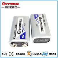 Bulk buy popular 6f22 9v high power battery