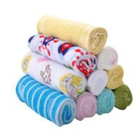 8 pcs/Lot baby feeding baby cotton towel baby face towel cleaning baby headbandbDR0023 handkerchiefs
