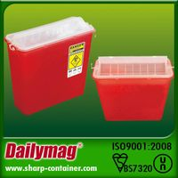 Medical Disposable Sharp Container 4.6L