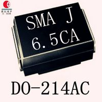 Free Samples 600W 6.8V TVS Chip Rectifier Diode SMB6.8A/CA DO-214AA Case