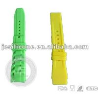 Silicone slap band watch , rubber watch strap ,geneva jelly sport watches ,price ,manufacture thumbnail image