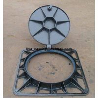 EN124 Ductile iron manhole cover and frames