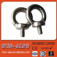 China supplier,eye bolt manufacturing,provide good quality low price DIN580 lifting forged eyebolt thumbnail image