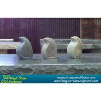 Cobble stone owl sculpture for sale thumbnail image