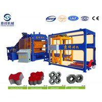 Automatic hydraulic QT6-15 concrete brick block making machine