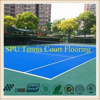 Spu Tennis Sports Flooring System Qualified by Itf thumbnail image