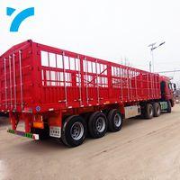 Heavy duty side wall semi trailer bulk fence wall trailers