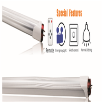 High Lumen 80lm/W T8 Integrated LED Tube Light with Indicator and Test Button , with Patents