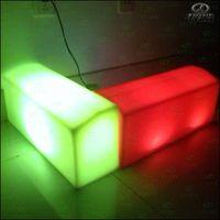 new design plastic paver curbs mould led light