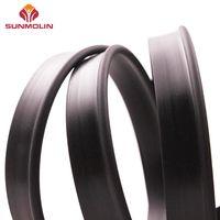 Black waterproof matte plastic piping welt cord thumbnail image