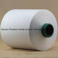 Polyester Yarn DTY 150d/144f sim raw white SD AA grade