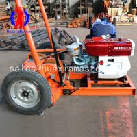 Engineering exploration drilling RigSH30-2A/30 m impact sand soil sampling drilling machine for sale thumbnail image