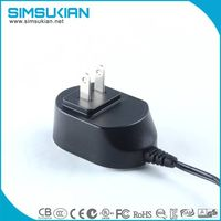 12v1a 5V2a factory price power adapter