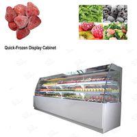 Fruits Flash Freeze Machine Price/Glass Fronted Freezer