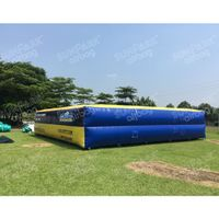 Large Inflatable Freestyle Airbags for Bungee Tower