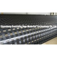 Pavement maintenance material polyester geogrid 400-30KN with high quality and best price