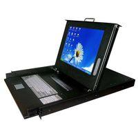 1U Rackmount 15 Inch LCD KVM Switch KVM-15 thumbnail image