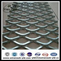Heavy duty expanded metal foot network