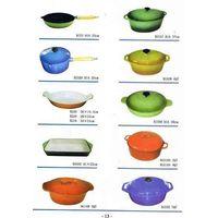 Cast steel cookware