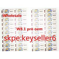 Win 8.1 Pro COA Label Sticker License Key Card X16 X15 X18 100 % Genuine OEM Key