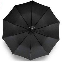 Brand Leather Handle 10 Rib Strong Automatic Umbrellas