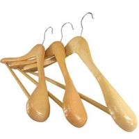 Deluxe Wide Shoulder Wooden Hanger