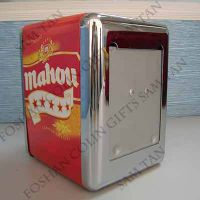 High Quality Square Metal Napkin Dispenser