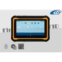 Dustproof 7 inch Android RFID touch screen handheld tablet PC
