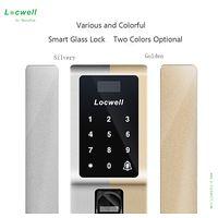 Professional Manufacture Smart Fingerprint Secret Code Glass Door Safe Lock thumbnail image