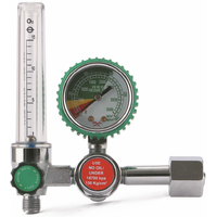yamato style medical oxygen regulator with tube flowmeter