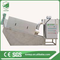 Volute sludge dewatering filter press thumbnail image