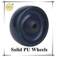 Industrial Solid Polyurethane Wheel For Casters