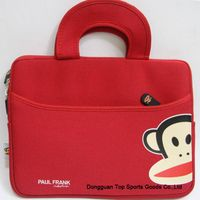 Beautiful red ipad bag
