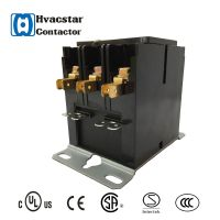 Low Price Electrical Contactor 24v 120v 240v with Ce Certificated 3P Definite Purpose Contactor ac c