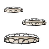 new design serving tray, metal mirror tray