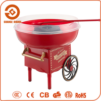 China Manufacturer Cotton Candy Floss Machine with Cart