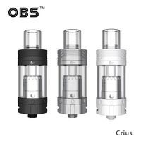 unique design top filling USA made kanthal wire OBS Crius rta wholesale price