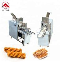 Automatic Crispy biscuit twists machine Snack Food Processing Machine Fried dough twist machine