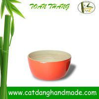 Vietnam bamboo bowl, bamboo lacquer bowl(skype: jendamy, Mob: +84 914542499)