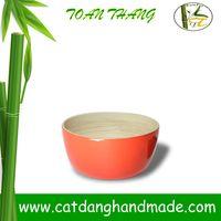 Vietnam bamboo bowl, bamboo lacquer bowl(skype: jendamy, Mob: +84 914542499)