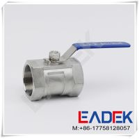 1 Piece Stainless Steel Ball Valve