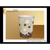 high quality 8oz ripple paper cup for hot coffee