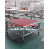 Aluminum alloy assembly stage/truss stage
