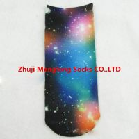Lady photo print socks